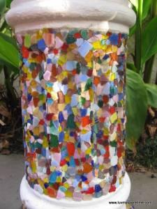 DIY glass mosaic
