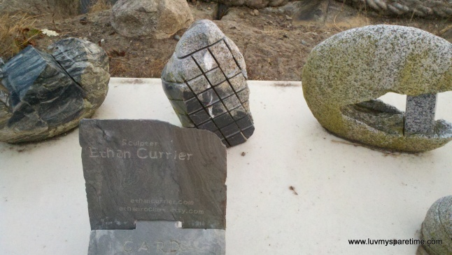 Ethan Currier sculptor Bainbridge Island