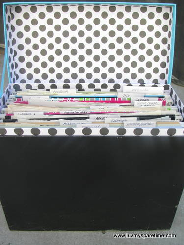 Deco File Box