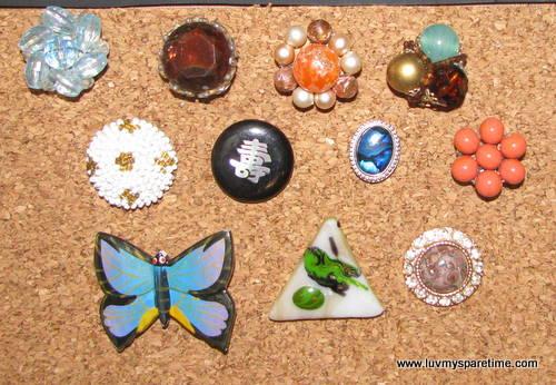 earring push pins