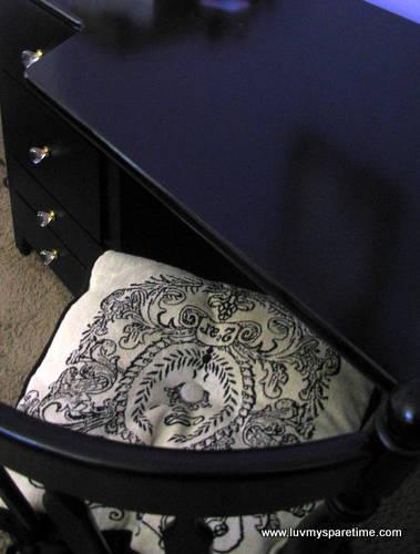 french chair cushion