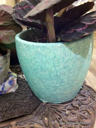 tape paint pot