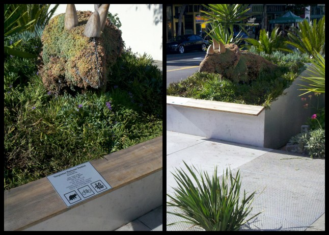 San Francisco Parklet in Misson District