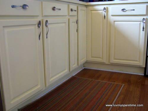 DIY Silverware cabinets