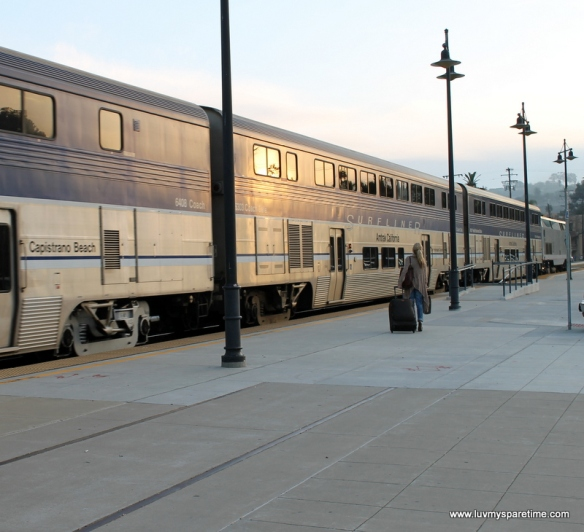 Amtrack Pacific surfLiner Train