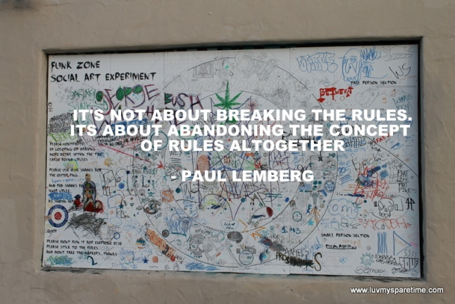 Breaking the Rules Quote