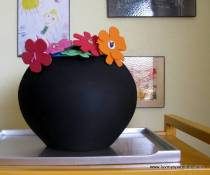 DIY Chalk Pottery