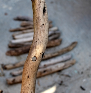 DIY Driftwood tree step 3
