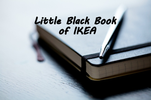 little black book of IKEA