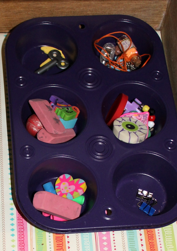 Muffin Tin organizer
