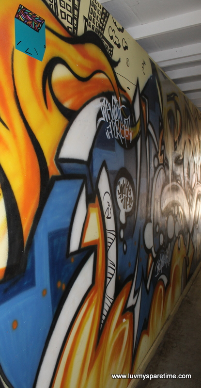 Graffiti Art at the Loft for Spare Parts Bistro