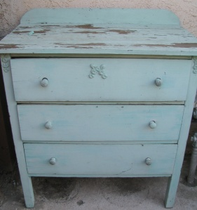 dresser for potting bench