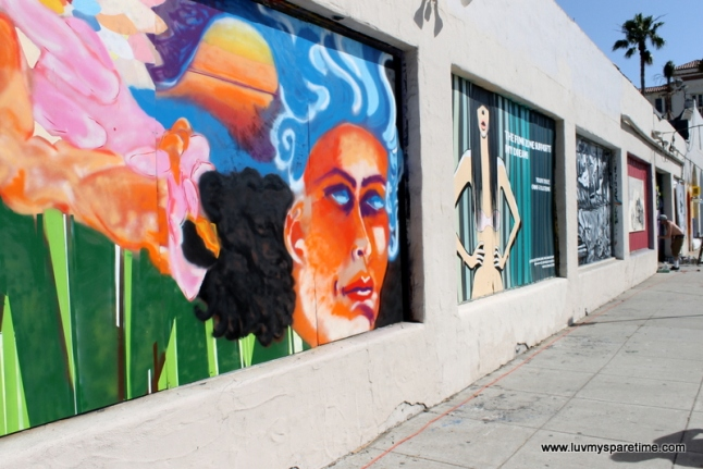 Santa Barbara Funk Zone Mural