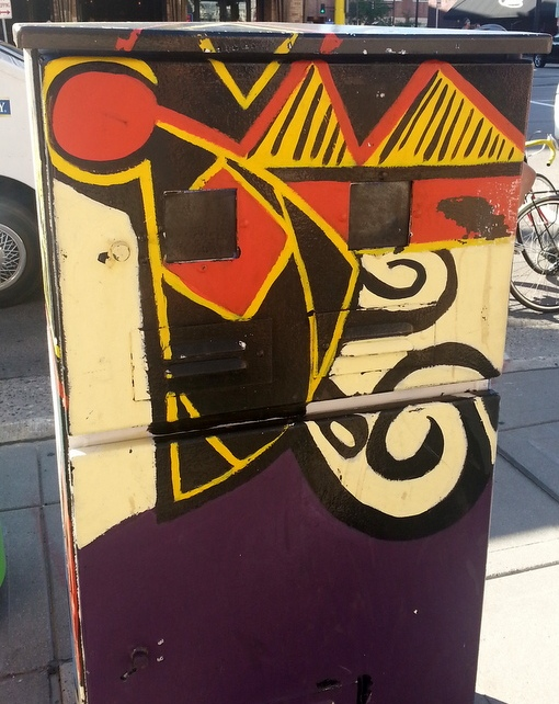 Minneapolis Utility Box Public Art Abstract