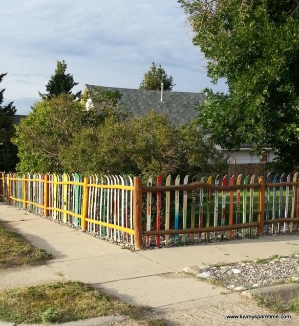 Diy Ski Fence Montana