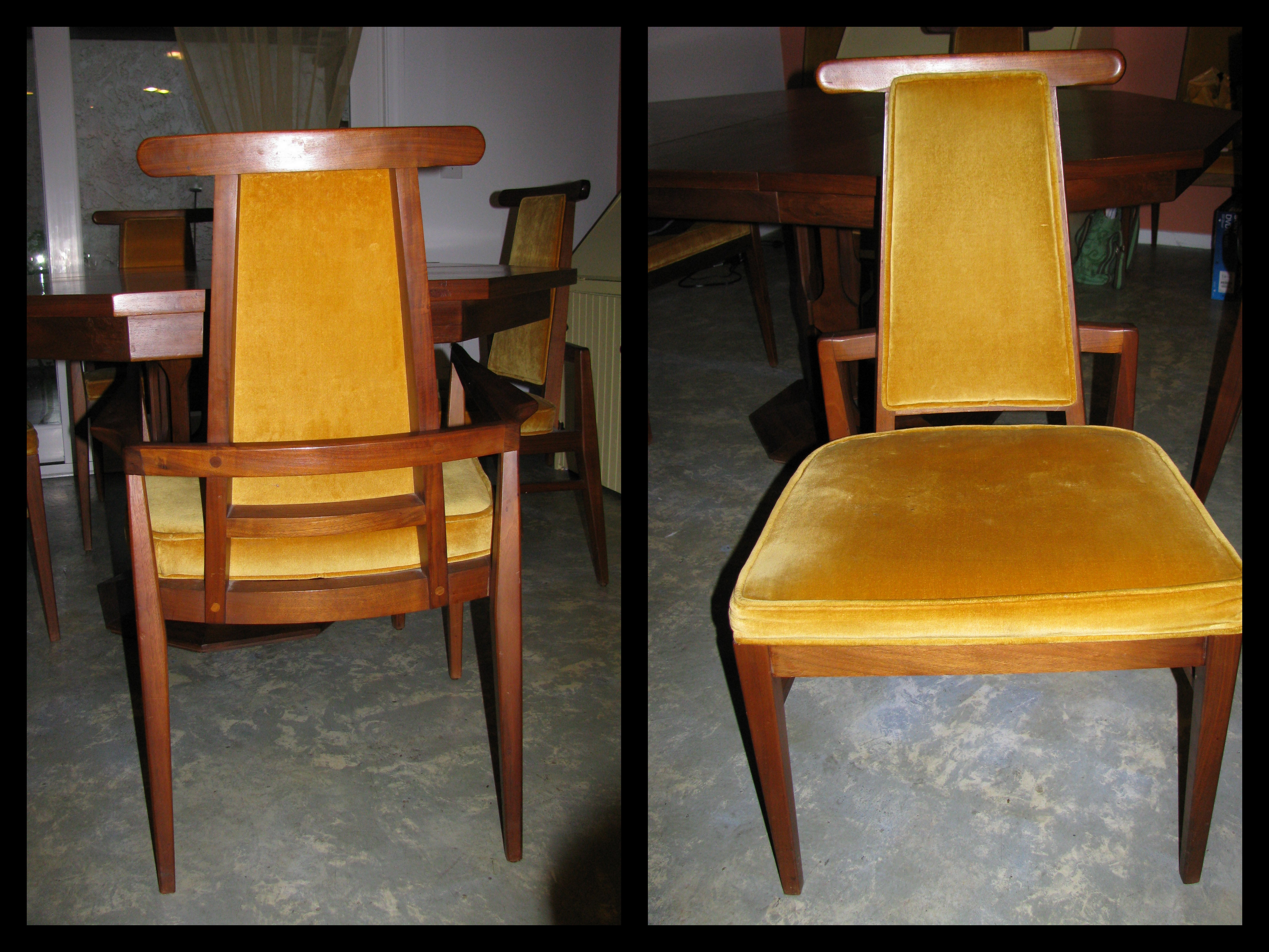 how to make dining room chairs taller
