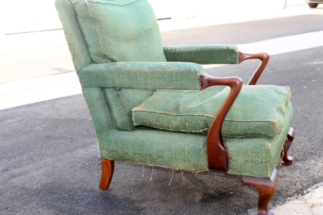 1930s upholstered chair